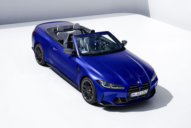 BMW M4 Competition Convertible 2022.