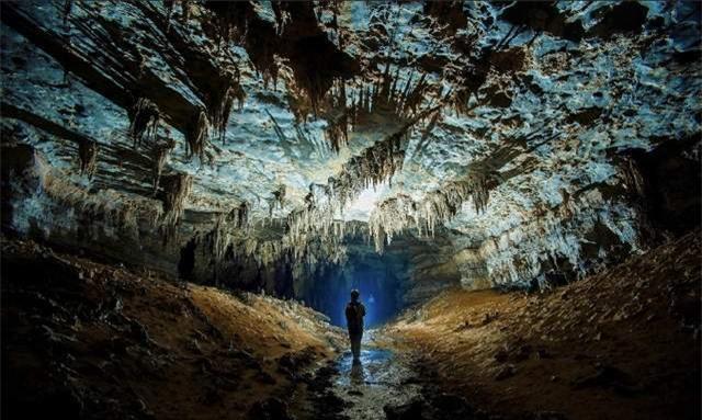 Thế giới ngầm siêu đẹp ở Thiểm Tây,