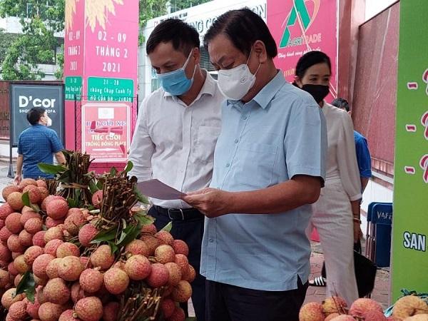 Theo Bộ trưởng Lê Minh Hoan, kết nối tiêu thụ nông sản là dịp để tạo dựng lại hình ảnh nông sản Việt Nam.