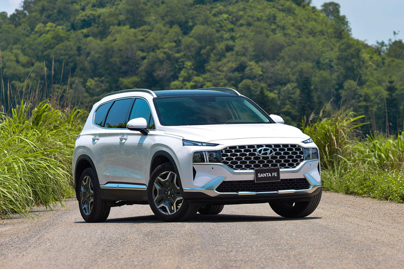 Hyundai Santa Fe 2021. Ảnh: TC Motors.