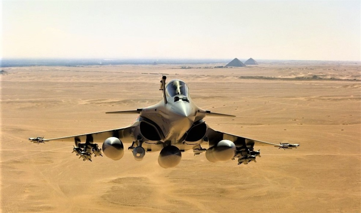 """""""Phượng hoàng bầu trời"""" Rafale - tinh hoa của nền công nghiệp quốc phòng Pháp; Nguồn: actu-aero.fr"""