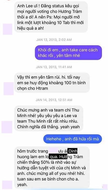 Nathan Lee tung tin nhắn chứng minh từng hỗ trợ Thu Minh tại The Voice, dành tình cảm đến mức đặt mật khẩu wifi là tên đàn chị  - Ảnh 3.