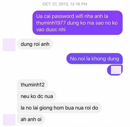 Nathan Lee tung tin nhắn chứng minh từng hỗ trợ Thu Minh tại The Voice, dành tình cảm đến mức đặt mật khẩu wifi là tên đàn chị  - Ảnh 5.