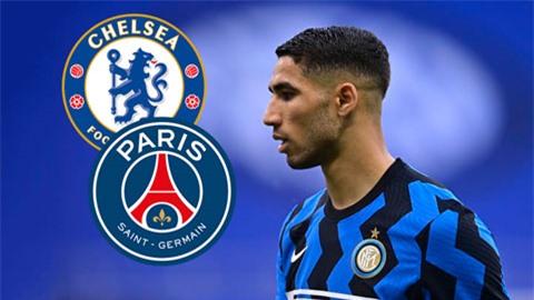 PSG đặt giá 60 triệu euro cho Hakimi, Chelsea lập tức đưa đề nghị 'chất' hơn hẳn