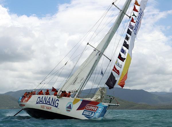 Đà Nẵng từng đăng cai là một trong các điểm đến của Cuộc đua thuyền buồm Vòng quanh thế giới Clipper 2015 - 2016