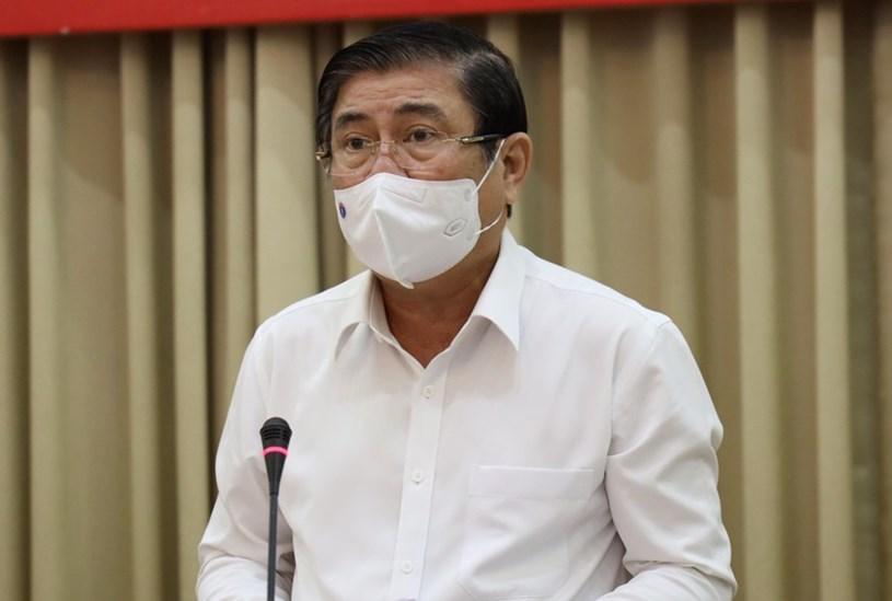 Ông Nguyễn Thành Phong cho biết, TP.HCM sẽ tiếp tục đồng hành, hỗ trợ doanh nghiệp gặp khó do dịch Covid-19