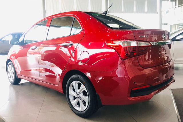 7. Hyundai Grand i10 (doanh số: 953 chiếc). Ảnh: Hyundai Long Biên 3S.
