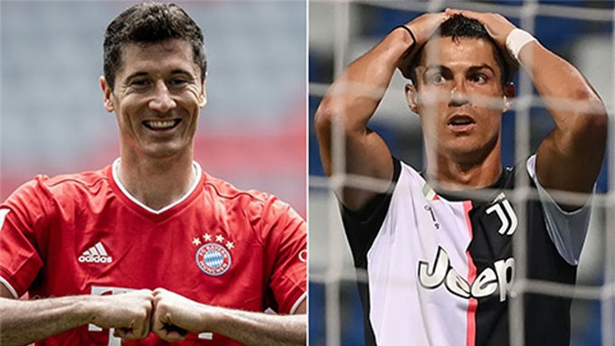 Những lão tướng như Lewandowski hay Ronaldo vẫn là trụ cột ở các ĐTQG tại EURO 2020