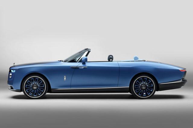 siêu xe Rolls-Royce Boat Tail.