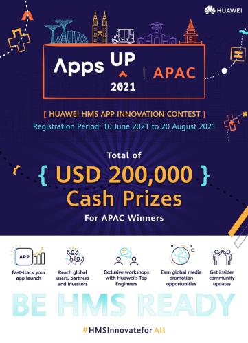 cuộc thi AppsUP năm thứ hai với giải thưởng tiền mặt trị giá 200.000 USD