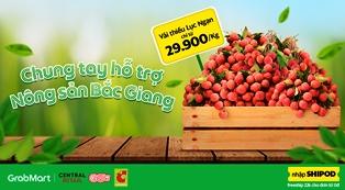 """Big C Việt Nam và Grab Việt Nam """"bắt tay"""" hỗ trợ nông sản Bắc Giang"""