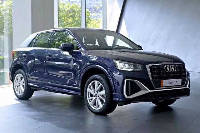 Audi Q2 2021. Ảnh cắt từ clip.