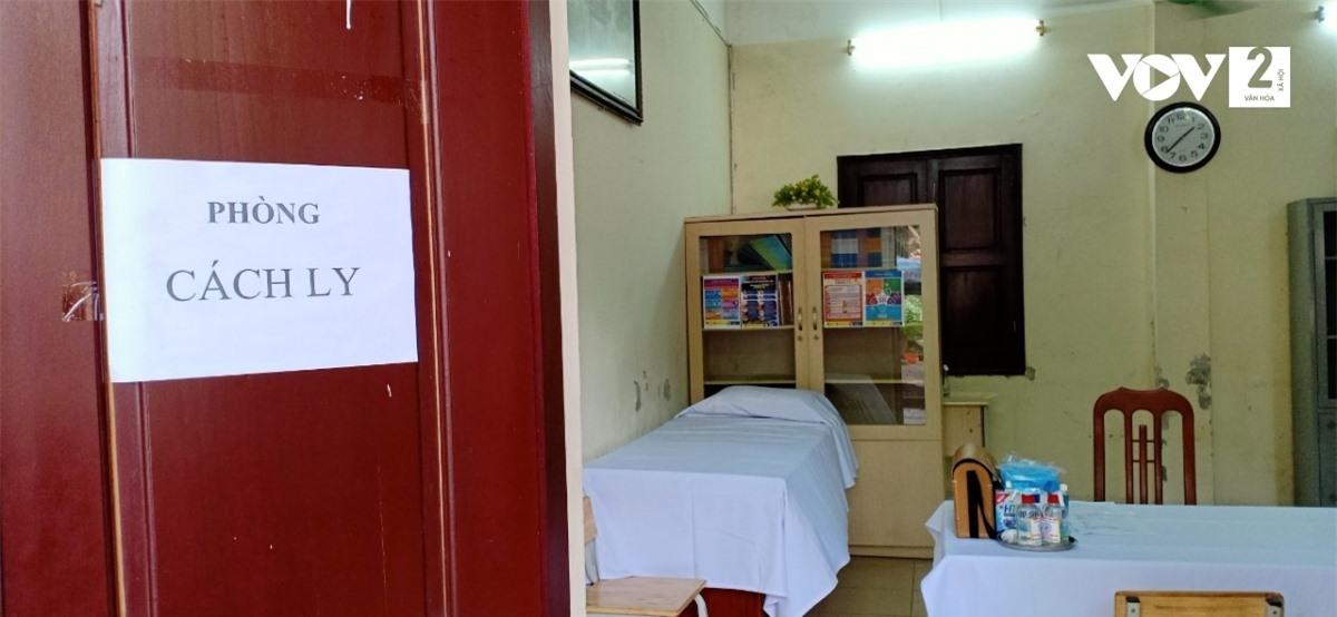 Phòng cách ly y tế.