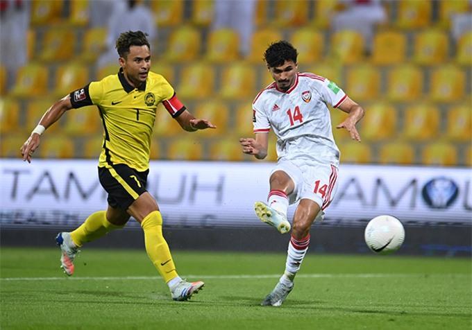 Malaysia phơi bày nhiều điểm yếu sau trận thua trước UAE
