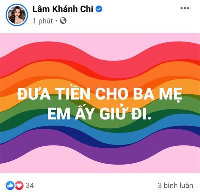 Lâm Khánh Chi bất ngờ đăng trạng thái giữa đêm rồi xóa vội, bị nghi ẩn ý vụ Phi Nhung - Hồ Văn Cường - Ảnh 1.