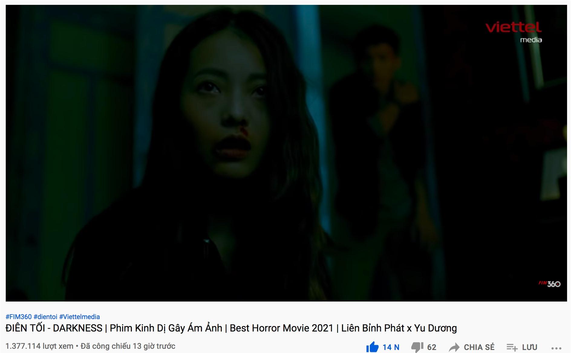 Vừa ra mắt, phim kinh dị của Yu Dương và Liên Bỉnh Phát đã đạt 2 triệu lượt xem - Ảnh 1.