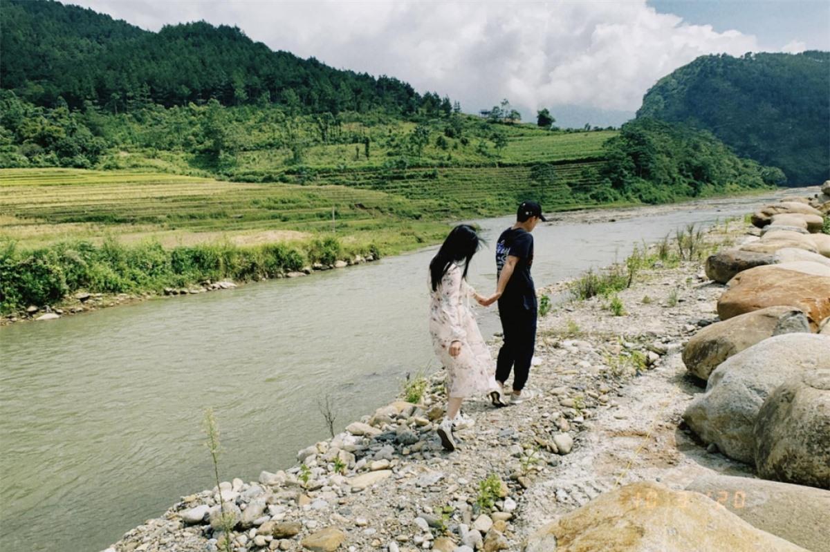 Tây Bắc trở thành điểm đến lý tưởng cho các cặp đôi yêu nhau bởi không gian yên bình, nên thơ. Ảnh: Mỹ Linh./.