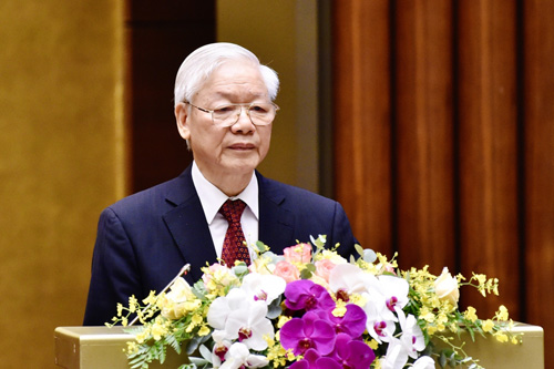 Toàn văn phát biểu của Tổng Bí thư tại hội nghị sơ kết 5 năm thực hiện Chỉ thị 05