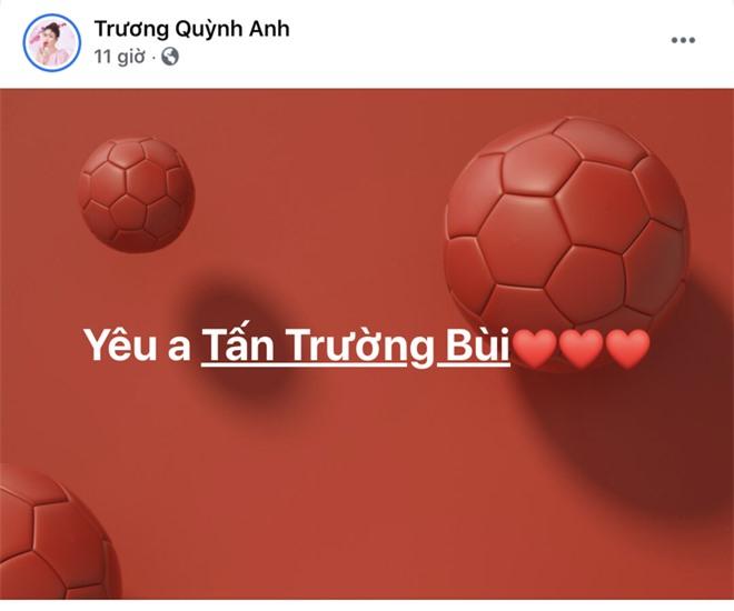 Sau trận Việt Nam thắng Malaysia, Lan Ngọc, Trương Quỳnh Anh và dàn sao nữ đồng loạt tỏ tình với 1 cầu thủ hot hit - Ảnh 4.