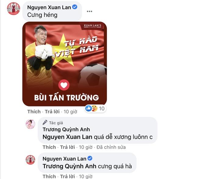 Sau trận Việt Nam thắng Malaysia, Lan Ngọc, Trương Quỳnh Anh và dàn sao nữ đồng loạt tỏ tình với 1 cầu thủ hot hit - Ảnh 5.