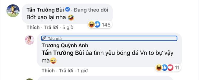 Sau trận Việt Nam thắng Malaysia, Lan Ngọc, Trương Quỳnh Anh và dàn sao nữ đồng loạt tỏ tình với 1 cầu thủ hot hit - Ảnh 6.