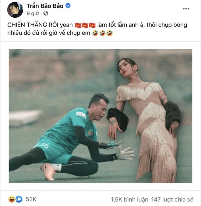 Sau trận Việt Nam thắng Malaysia, Lan Ngọc, Trương Quỳnh Anh và dàn sao nữ đồng loạt tỏ tình với 1 cầu thủ hot hit - Ảnh 8.