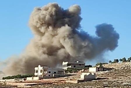 Không quân Nga và SAA đã đánh bại các vị trí của Hayat Tahrir al-Sham