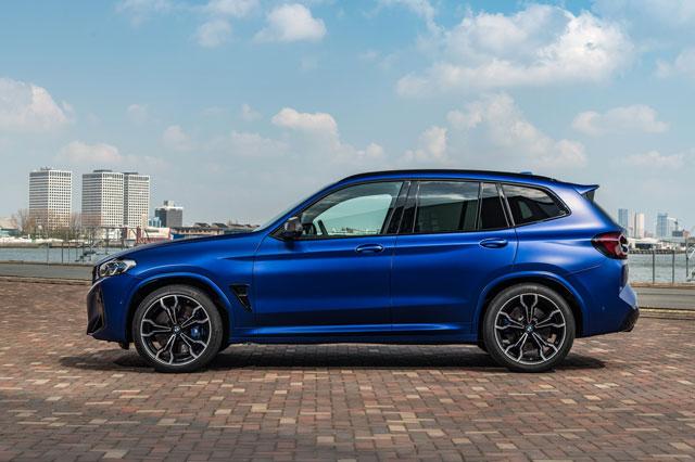 BMW X3 M 2022: Công suất 503 mã lực, giá khởi điểm hơn 1,6 tỷ đồng