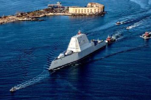 Mỹ rút tiền từ Zumwalt đóng tàu chặn đòn siêu thanh