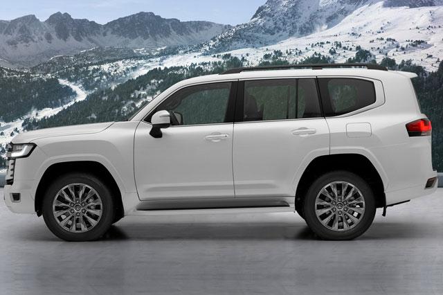 Cận cảnh Toyota Land Cruiser 2022: Thay đổi toàn diện