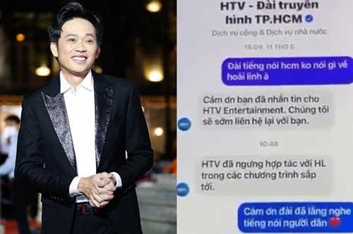 Xôn xao thông tin Đài truyền hình HTV ngưng hợp tác với nghệ sĩ Hoài Linh?