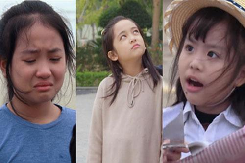 Những sao nhí đang gây sốt trong các bộ phim 'giờ vàng' VTV