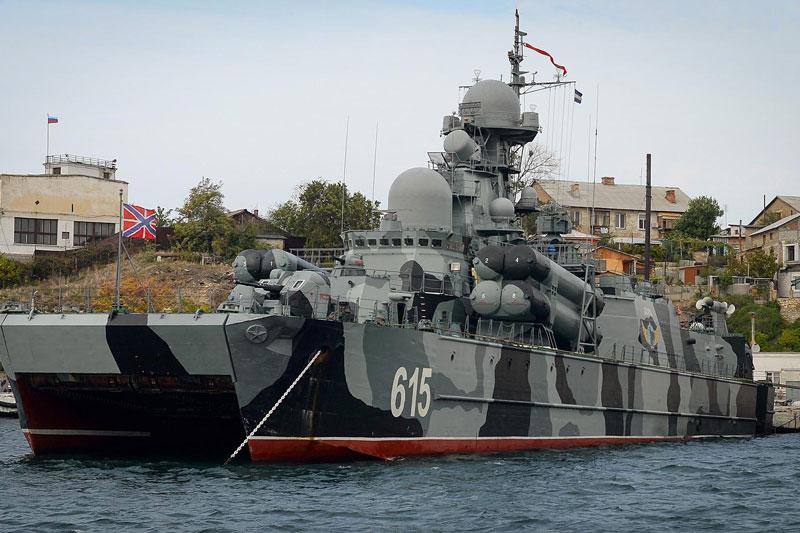 Tàu tên lửa đệm khí tàng hình độc nhất vô nhị Bora sắp trở lại Hạm đội Biển Đen