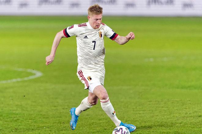 Tiền vệ: Kevin de Bruyne (Bỉ).