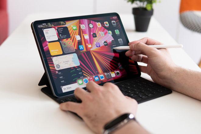 Trải nghiệm pin iPad Pro M1 11 inch, giá từ 21,99 triệu đồng ở Việt Nam