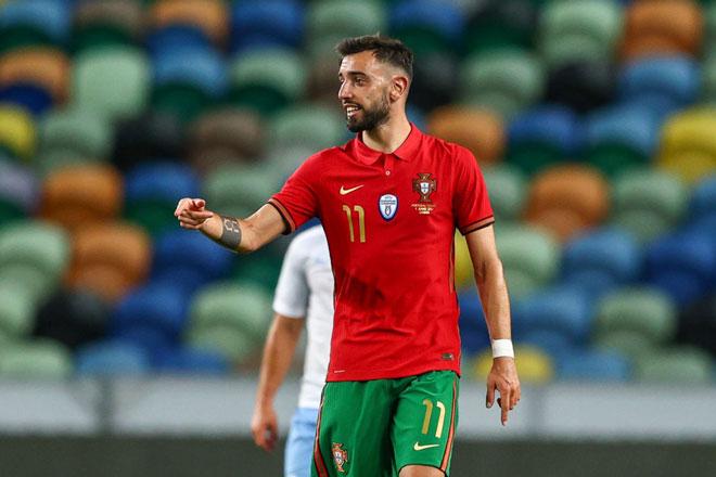 Tiền vệ: Bruno Fernandes (Bồ Đào Nha).