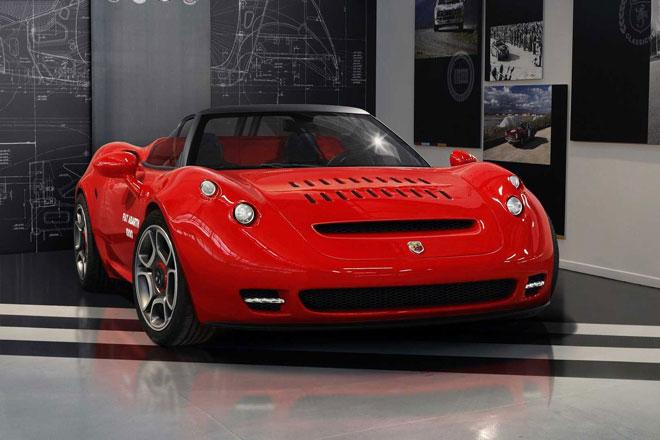 8. Fiat Abarth 1000 SP.