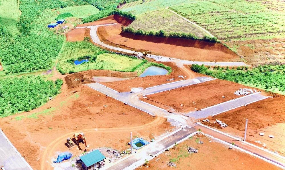 Có tình trạng phân lô, tách thửa diễn ra tràn lan trên địa bàn TP. Bảo Lộc và một số địa phương khác của tỉnh Lâm Đồng trong thời gian qua.