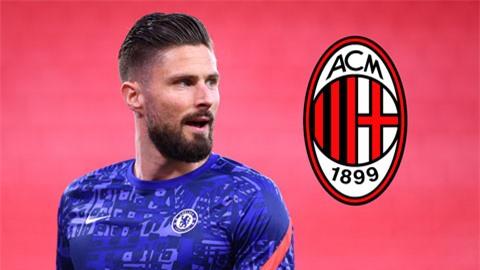 Milan đạt thỏa thuận với Giroud
