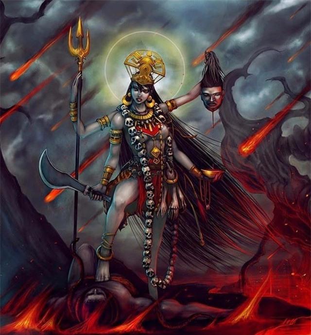 Nữ thần Kali – Vị thần quyền lực và tàn bạo bậc nhất trong thế giới thần thoại - Ảnh 2.