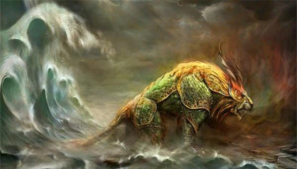 Thần thú Niên từng bị Hồng Quân Lão Tổ đánh bại trong thần thoại Trung Hoa quyền lực ra sao? - Ảnh 1.