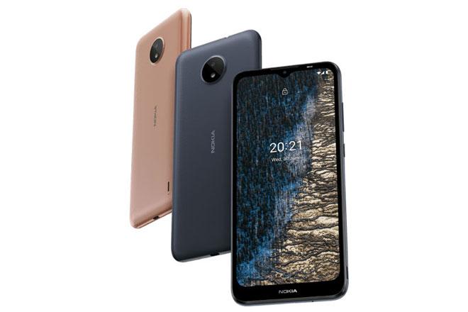 Nokia C20. Ảnh: Nokia.