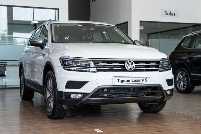 Volkswagen Tiguan Luxury S. Ảnh: Volkswagen Hà Nôi.