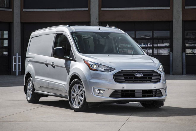 Ford được cho là đã thiết kế Transit Connect để tránh chịu mức thuế nhập khẩu cao. Ảnh: Ford.