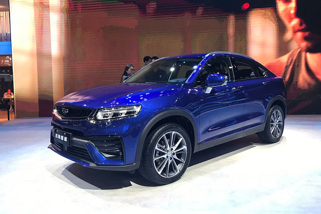 10. Geely Xingyue (doanh số: 5.487 chiếc).