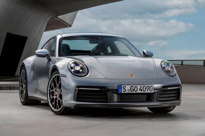 4. Porsche 911 (doanh số: 8.146 chiếc).