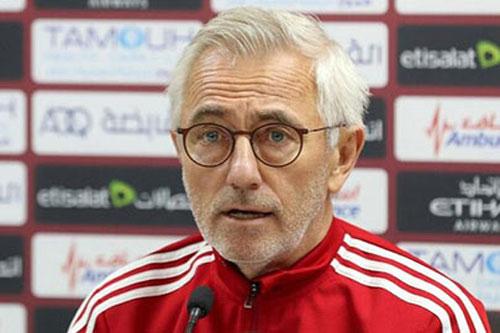 HLV Bert van Marwijk: 'UAE đã mạnh hơn so với khi thua Việt Nam'