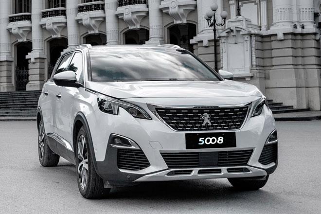Peugeot 5008 giảm giá lên tới 150 triệu đồng tại Việt Nam