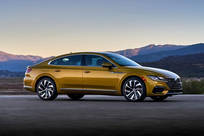 7. Volkswagen Arteon (doanh số: 6.621 chiếc).