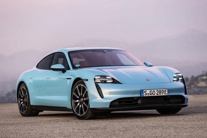 8. Porsche Taycan (doanh số: 6.255 chiếc).
